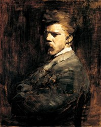 Frank Duveneck Self Portrait