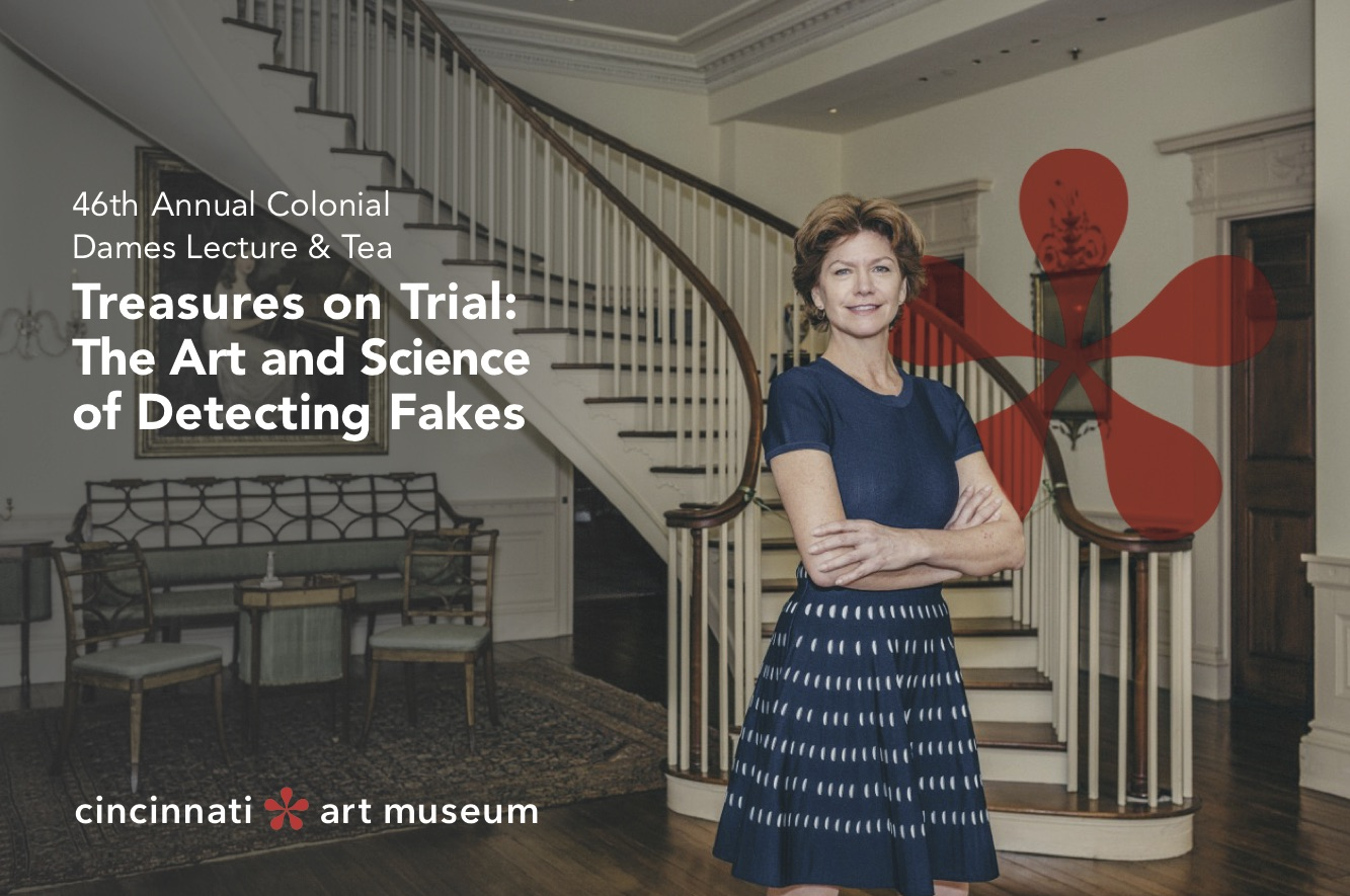Colonial Dames Lecture and Tea: Treasures on Trial: The Art and Science of Detecting Fakes with Colette Loll, Founder and Director of Art Fraud Insights