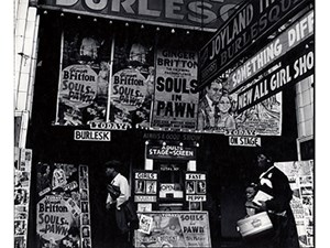 Walker Evans Burlesque Theater Chicago