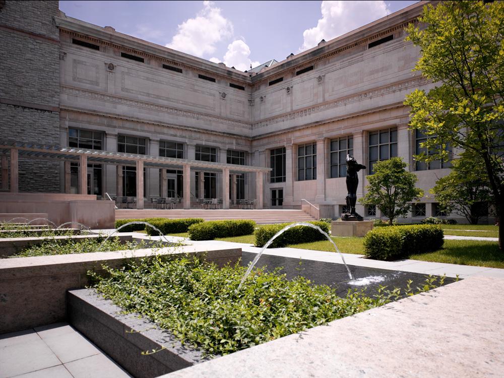 Alice Bimel Courtyard